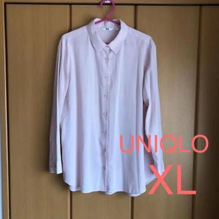 UNIQLO - ユニクロ   レーヨンエアリーブラウス
