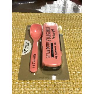 【新品】スケーター スープスプーン ケースセット ファインスタイル 色:ピンク (弁当用品)
