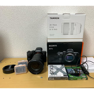 SONY - 【お得セット】a7iii+Tamron28-75セット