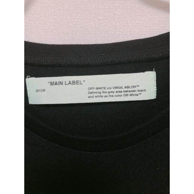 OFF-WHITE(オフホワイト)のoff-white tシャツ メンズのトップス(Tシャツ/カットソー(半袖/袖なし))の商品写真
