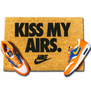 NIKE - NIKE OVERKILL KISS MY AIRS 玄関マット ドアマット