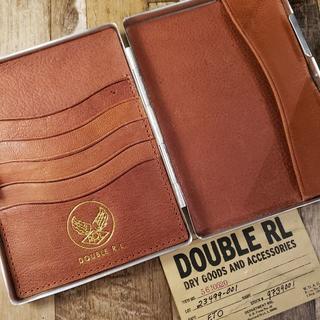 ダブルアールエル(RRL)のRRL Double RL Passport Case ダブルアールエル(名刺入れ/定期入れ)