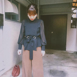 アメリヴィンテージ(Ameri VINTAGE)のAMERI APRON LADY BLOUSE(シャツ/ブラウス(長袖/七分))