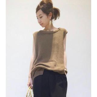L'Appartement DEUXIEME CLASSE - L'Appartement★2018SS ノースリーブ Knit Vest