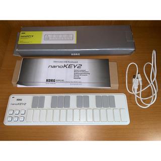 コルグ(KORG)のKORG nano KEY2 white(MIDIコントローラー)
