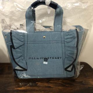 JILL by JILLSTUART - 新品 JILL by JILLSTUART フリルキャンバストートバッグ