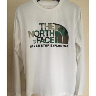 THE NORTH FACE - ノースフェイス ロンT ホワイト S