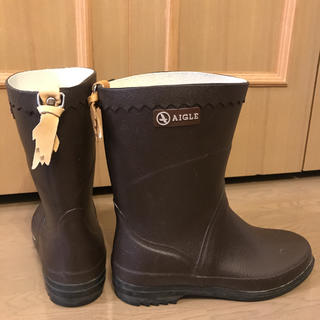AIGLE - AIGLE エーグル 長靴レインブーツAIGLE 36 (23〜23.5cm)