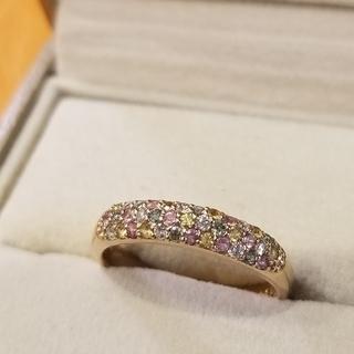ポンテヴェキオ(PonteVecchio)のポンテヴェキオ ピッコリーニ グラニータ パヴェリング K18PG 指輪(リング(指輪))