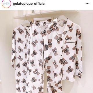 gelato pique - ジェラートピケ ルームウェアドレス