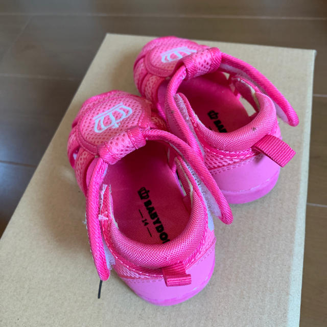 BABYDOLL(ベビードール)のベビードール キッズ/ベビー/マタニティのベビー靴/シューズ(~14cm)(サンダル)の商品写真