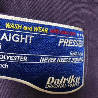 UNUSED - Dairiku 【FLASHER PRESEED PANTS】
