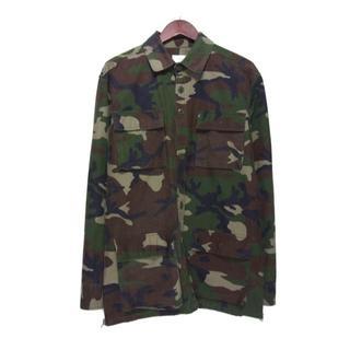 フィアオブゴッド(FEAR OF GOD)のフォグ FOG■COLLECTION ONEサイドジップ迷彩シャツジャケット(シャツ)