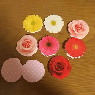 コメントカード お花 8枚(カード/レター/ラッピング)