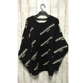dude9 stud homme ロゴセーター オーバーサイズ