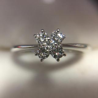 Pt900 ダイヤモンド 指輪 総重量3.9g(リング(指輪))