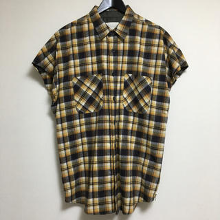 フィアオブゴッド(FEAR OF GOD)のFEAR OF GOD 4th チェックシャツ Mサイズ(シャツ)