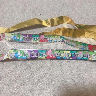 ジャニーズ(Johnny's)のKing & Prince キンプリ 銀テ1ロゴ 銀テープ2019(男性アイドル)