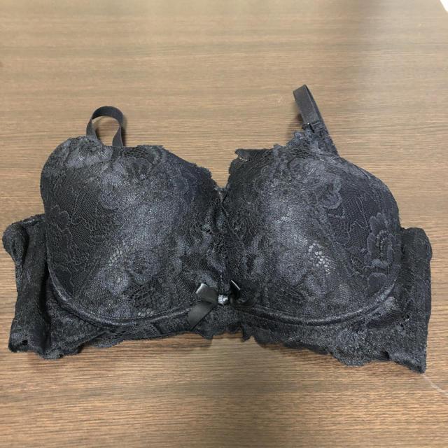 aimer feel(エメフィール)のエメフィール カシュクールレース脇高ブラ E75 レディースの下着/アンダーウェア(ブラ)の商品写真
