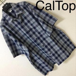 カルトップ(CALTOP)の新同◆Cal Top キャルトップ◆チェックシャツ チカーノ ヒップホップ XL(シャツ)