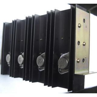 ケンウッド(KENWOOD)のTRIO/X07-1430最高級Hiパワーメインステレオアンプユニット未使用品(アンプ)
