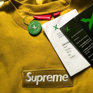 Supreme - supreme box logo crew neck トレーナー