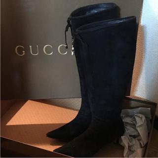グッチ(Gucci)のグッチ ロングブーツ(ブーツ)