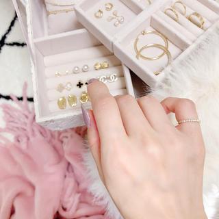 ダイヤモンドピンキーリング(リング(指輪))