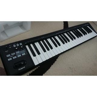 ローランド(Roland)の【大幅値下げ】Roland A49 MIDI キーボード コントローラー(MIDIコントローラー)