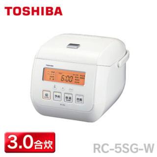 東芝 - 3合炊き炊飯器