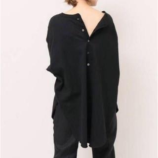 DEUXIEME CLASSE - 新品 AMERICANA BACK HENRY Tシャツ ブラック