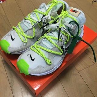 ナイキ(NIKE)のOff-white × NIKE Air Zoom Terra Kiger 5(スニーカー)