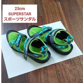 スーパースター(SUPERSTAR)の【中古品】23cm SUPERSTAR スポーツサンダル(サンダル)