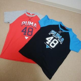 プーマ★半袖Tシャツ2枚セット★150★used