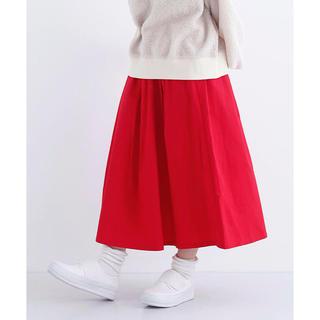 メルロー(merlot)のスカート(ひざ丈スカート)