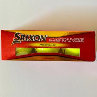 ダンロップ(DUNLOP)の【新品未使用】SRIXON ゴルフボール 3個(その他)