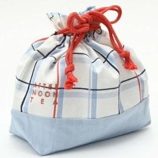 AfternoonTea - 【新品未使用】Afternoon Tea巾着タイプランチバッグ