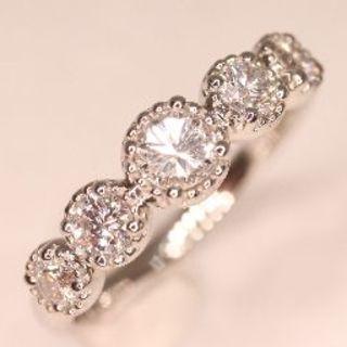 トクトク 豪華すぎる!!ダイヤモンド プラチナ 新品 リング