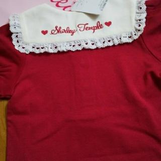 Shirley Temple - 新品タグ付き 120 セーラー 半袖Tシャツ 赤 シャーリーテンプル
