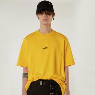 19ss ader error logo print Tシャツ yellow(Tシャツ/カットソー(半袖/袖なし))