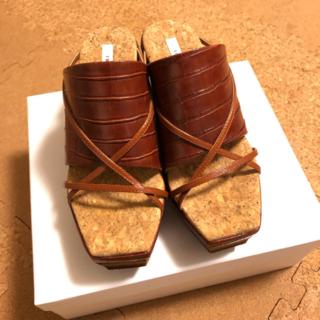 Ameri VINTAGE - Ameri VINTAGEレディースシューズ 靴 スリッパ 厚底 ウェッジソール