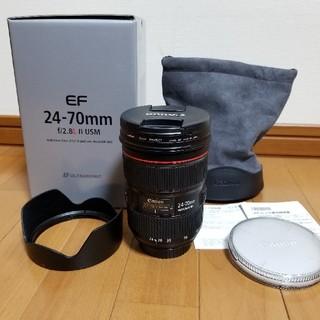 Canon - CANONキヤノン EF24-70mm F2.8L II USM保護フィルター付
