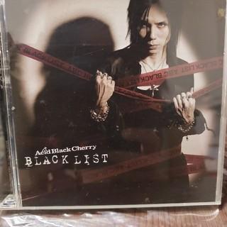 「BLACK LIST」 Acid Black Cherry(ポップス/ロック(邦楽))