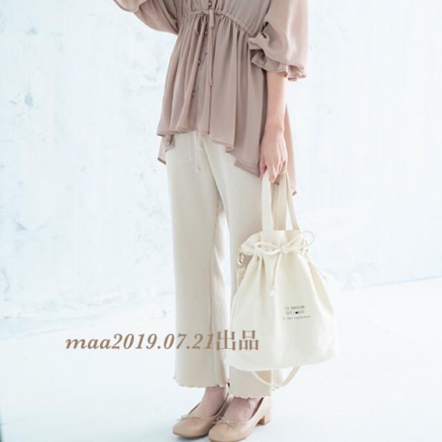 しまむら(シマムラ)のキャンバストートバッグ レディースのバッグ(トートバッグ)の商品写真