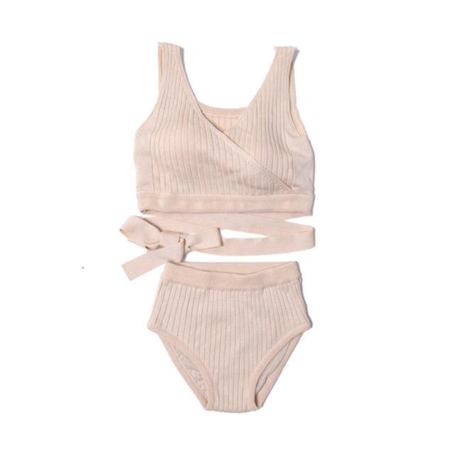 Ameri VINTAGE(アメリヴィンテージ)のAMAIL 水着 アイボリー レディースの水着/浴衣(水着)の商品写真
