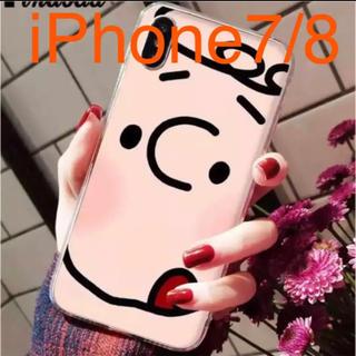 スヌーピー(SNOOPY)のチャーリーブラウン iPhoneケース(iPhoneケース)