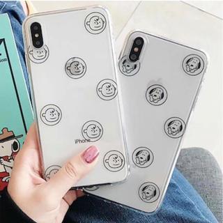 スヌーピー(SNOOPY)のスヌーピー チャーリーブラウン iPhoneケース(iPhoneケース)