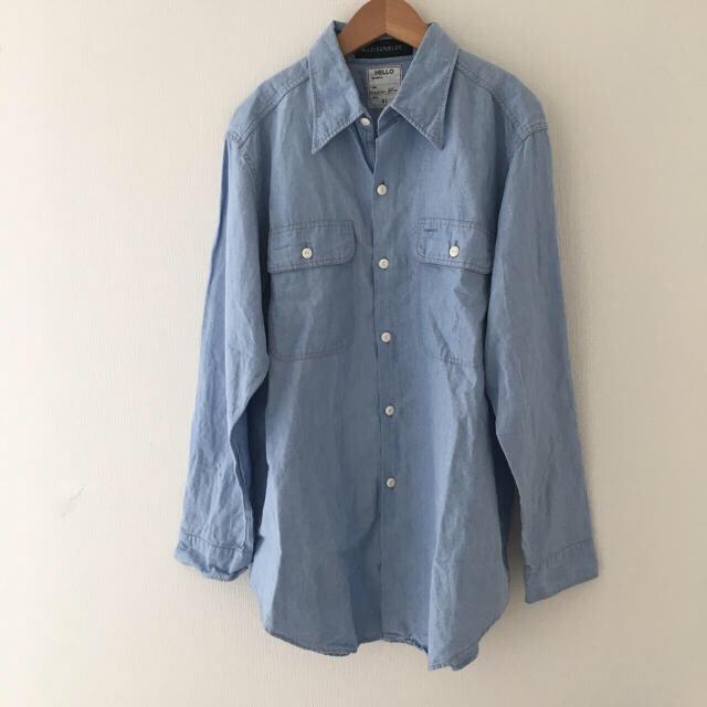 MADISONBLUE(マディソンブルー)のマディソンブルー  シャンブレーシャツ 01 美品 レディースのトップス(シャツ/ブラウス(長袖/七分))の商品写真