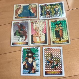 ドラゴンボール - 厚紙 悟飯編 アマダ ドラゴンボール カードダス 7a カード