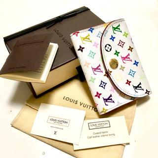 LOUIS VUITTON - 送料無料 ルイ ヴィトン マルチカラー モノグラム 財布 名刺 カードケース